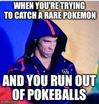 how to catch pokemon if you run out of pokeballs