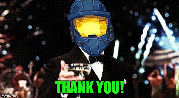 Cheers Ghost | THANK YOU! | image tagged in cheers ghost | made w/ Imgflip meme maker