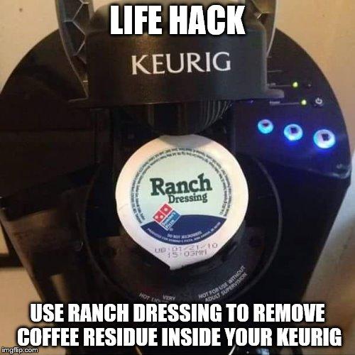 Coffee Maker Cleaning Hacks : keurig - Imgflip