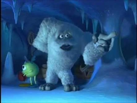 Monsters Inc Yeti Blank Template Imgflip