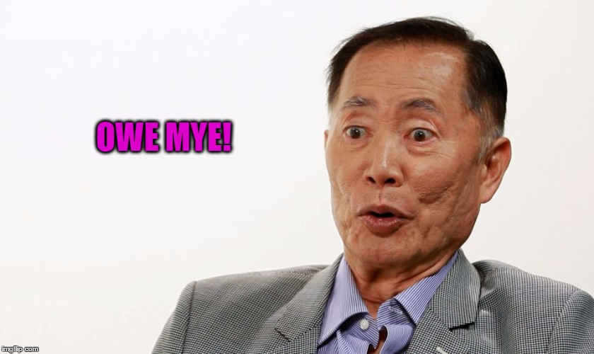 Oh My! | OWE MYE! | image tagged in oh my | made w/ Imgflip meme maker