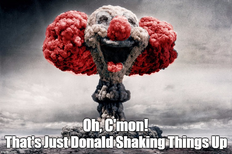 "Trump ""Shaking Things Up"" 