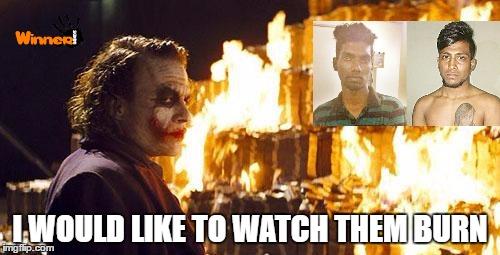 joker burns money imgflip