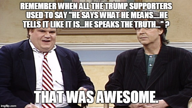"Don't worry....we'll get ""reimbursed"" for that glorious wall. LOL 
