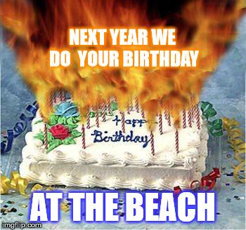 Birthday Cake Fire Imgflip