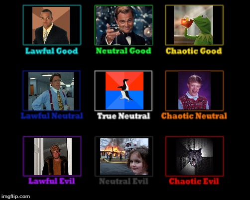 Meme Alignment Chart | image tagged in meme,memes,funny,funny memes,chart | made w/ Imgflip meme maker