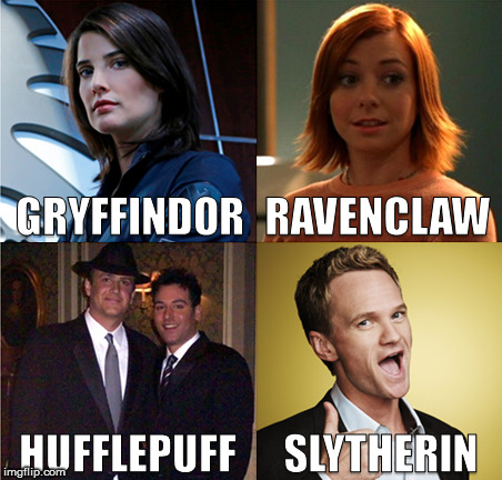 HIMYM Hogwarts House | image tagged in true story,memes,harry potter,himym | made w/ Imgflip meme maker