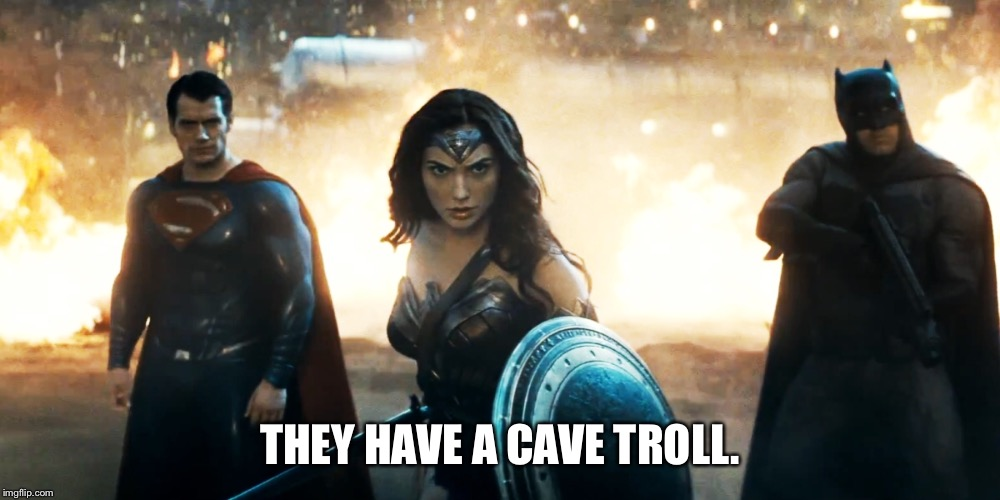 image tagged in batman vs superman lord of the rings imgflip