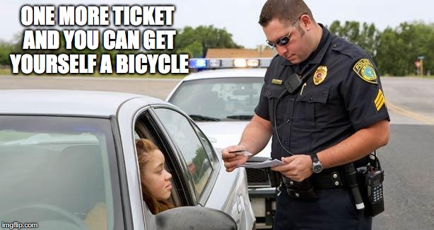 ONE MORE TICKET AND YOU CAN GET YOURSELF A BICYCLE | made w/ Imgflip meme maker