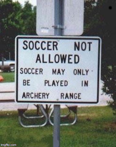 Moving Targets | . | image tagged in archery,soccer field | made w/ Imgflip meme maker
