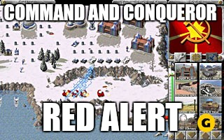 COMMAND AND CONQUEROR RED ALERT | made w/ Imgflip meme maker