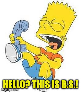 HELLO? THIS IS B.S.! | made w/ Imgflip meme maker