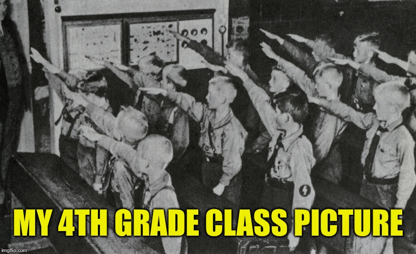 MY 4TH GRADE CLASS PICTURE | made w/ Imgflip meme maker