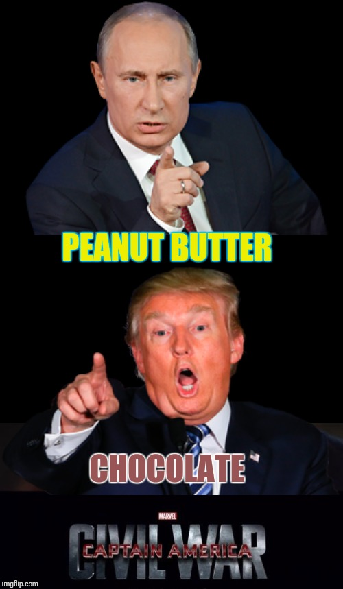 PEANUT BUTTER CHOCOLATE | made w/ Imgflip meme maker