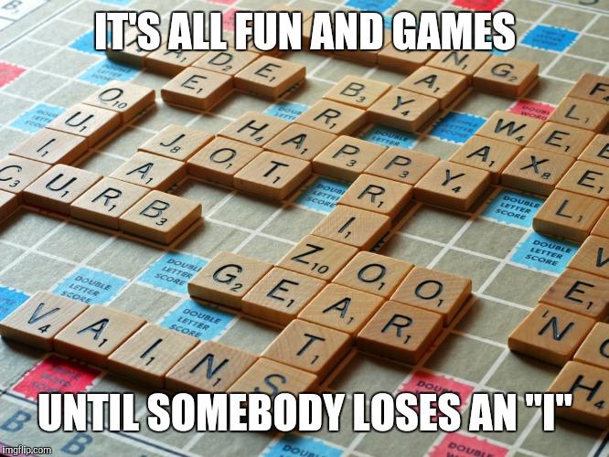 Scrabble - Imgflip