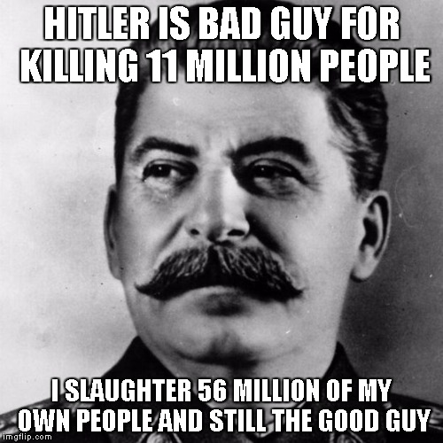do it for papa Stalin