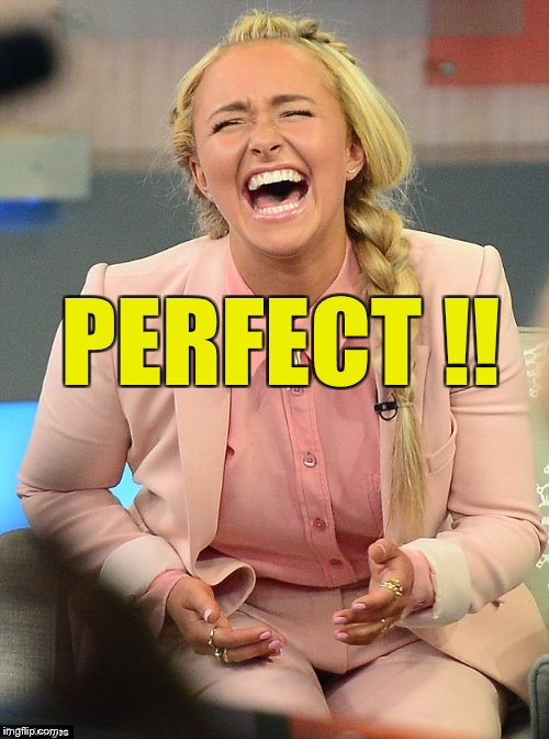 PERFECT !! | made w/ Imgflip meme maker