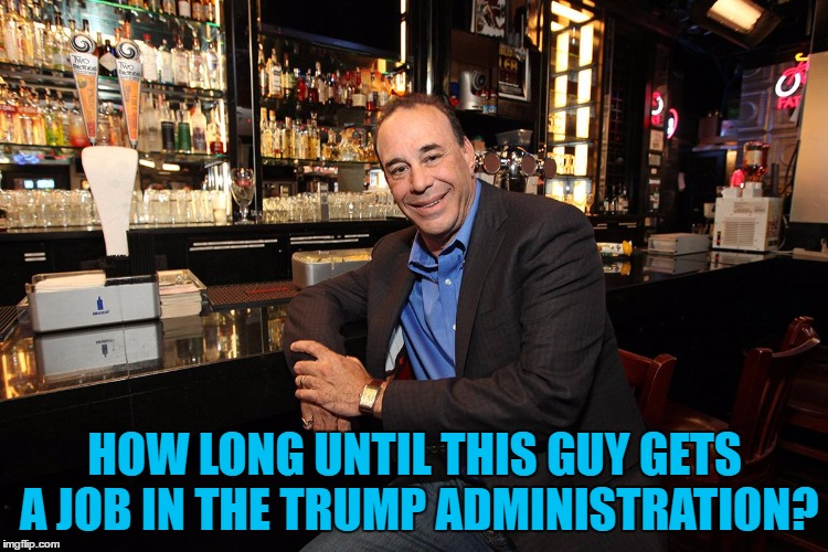 Secretary of Shutting it Down? :) |  HOW LONG UNTIL THIS GUY GETS A JOB IN THE TRUMP ADMINISTRATION? | image tagged in jon taffer bar rescue,memes,trump,politics,jon taffer,trump administration | made w/ Imgflip meme maker