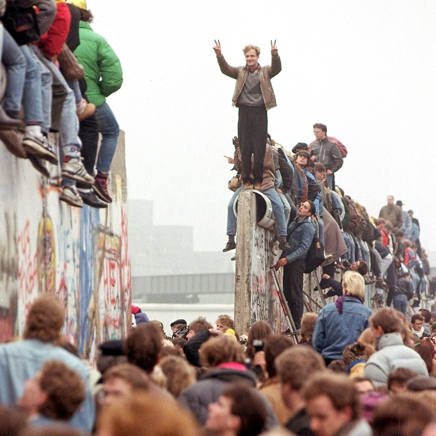Berlin Wall Fallen Meme Template
