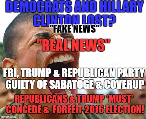 "Concede & Forfeit | DEMOCRATS AND HILLARY CLINTON LOST? ""FAKE NEWS"" FBI, TRUMP & REPUBLICAN PARTY GUILTY OF SABATOGE & COVERUP ""REAL NEWS"" REPUBLICANS & TRUMP * 