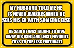 Blank Yellow Sign Meme - Imgflip