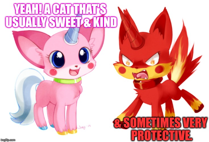 Unikitty | YEAH! A CAT THAT'S USUALLY SWEET & KIND & SOMETIMES VERY PROTECTIVE. | image tagged in the lego movie,the lego movie unkitty,unikitty,cat,cute | made w/ Imgflip meme maker