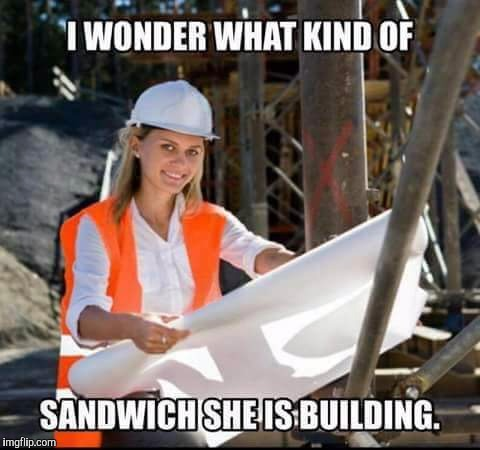 Equal rights | image tagged in memes,women rights,stay at home mom,construction worker,make me a sandwich | made w/ Imgflip meme maker