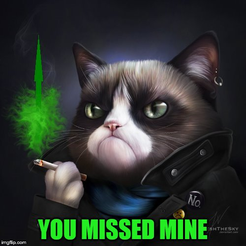 YOU MISSED MINE | made w/ Imgflip meme maker