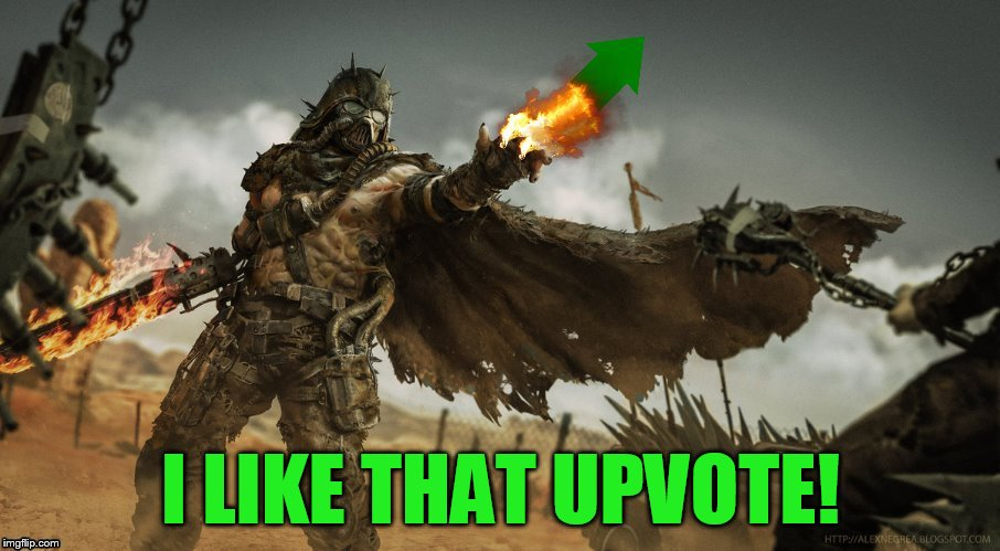 I LIKE THAT UPVOTE! | made w/ Imgflip meme maker
