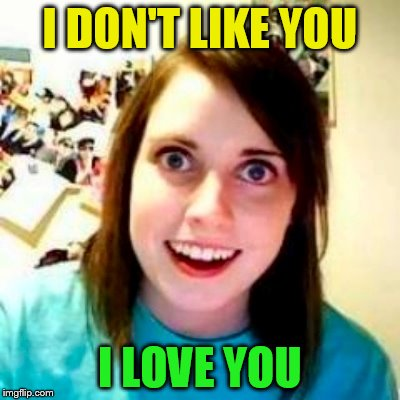 I DON'T LIKE YOU I LOVE YOU | made w/ Imgflip meme maker