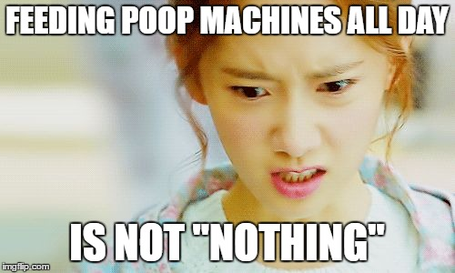 "Angry Yoona | FEEDING POOP MACHINES ALL DAY IS NOT ""NOTHING"" 