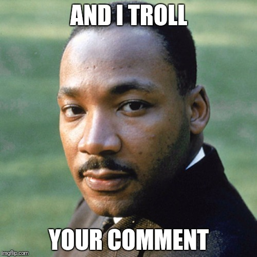 AND I TROLL YOUR COMMENT | made w/ Imgflip meme maker