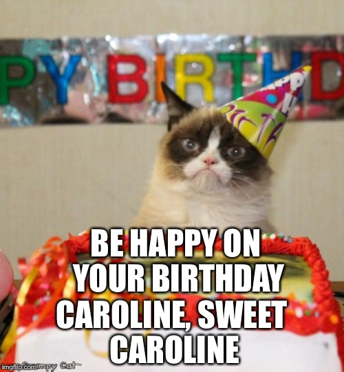 Grumpy Cat Birthday Meme Imgflip
