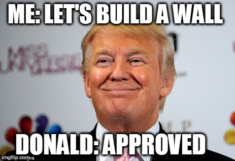 Donald trump approves - Imgflip