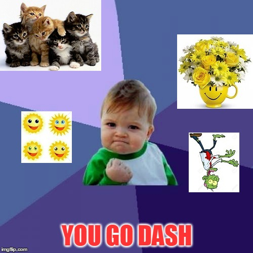 YOU GO DASH | made w/ Imgflip meme maker