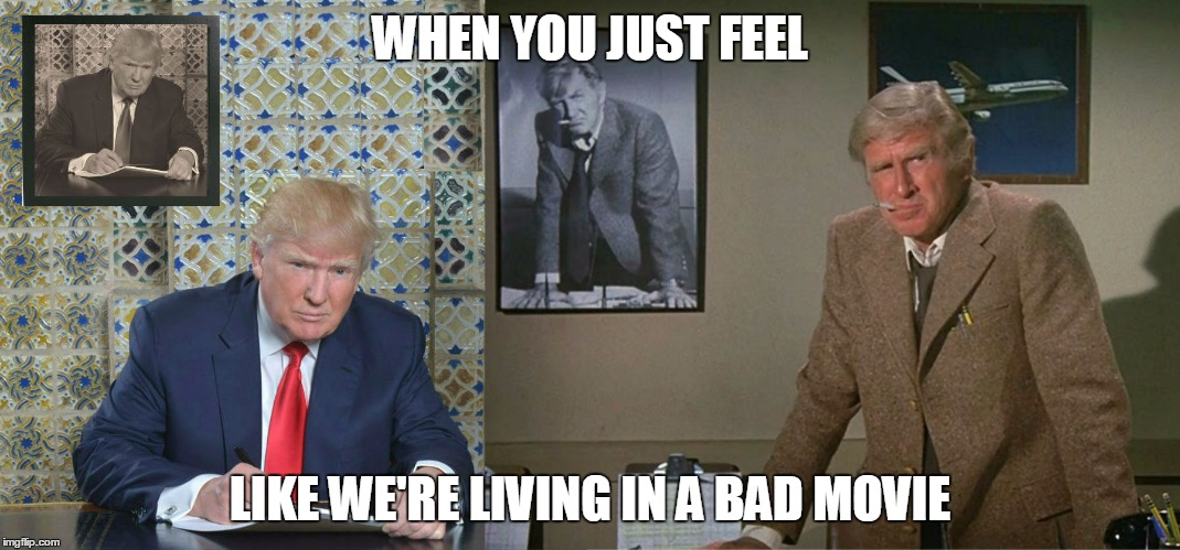 Trump In Airplane Movie Imgflip