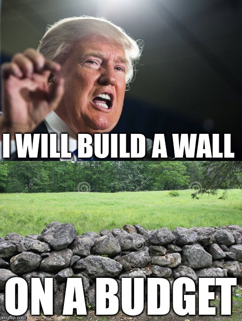 1i01l4 image tagged in donald trump,wall,memes,mexico imgflip