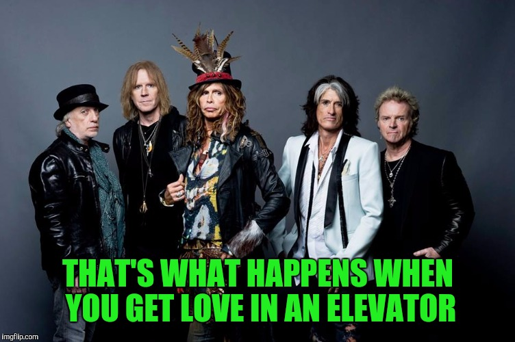 THAT'S WHAT HAPPENS WHEN YOU GET LOVE IN AN ELEVATOR | made w/ Imgflip meme maker