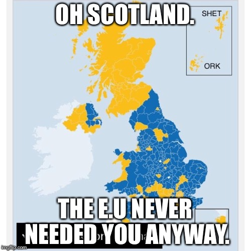 1i14fk image tagged in scotland voted remain imgflip