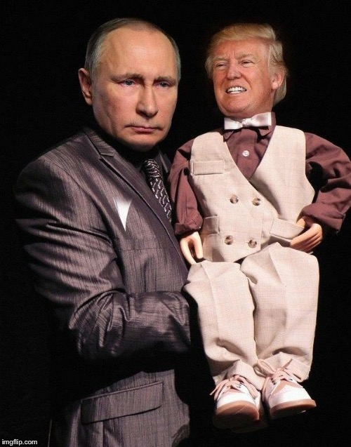 image tagged in putin's puppet | made w/ Imgflip meme maker