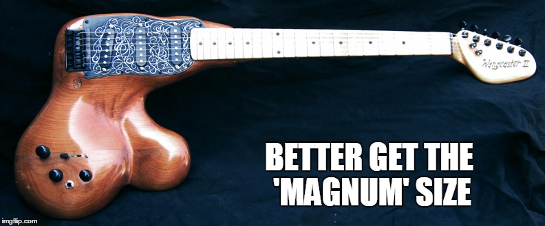 BETTER GET THE 'MAGNUM' SIZE | made w/ Imgflip meme maker