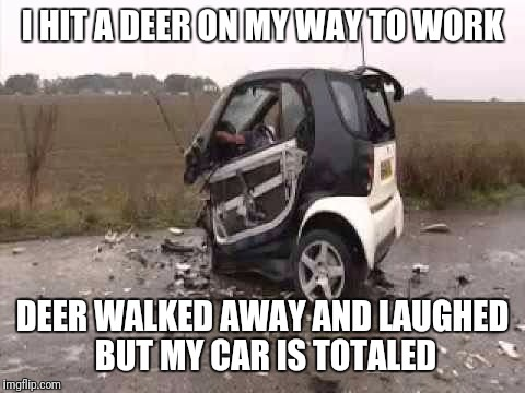 1i28wq smart car crash meme generator imgflip