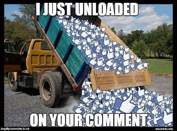 I JUST UNLOADED ON YOUR COMMENT | made w/ Imgflip meme maker