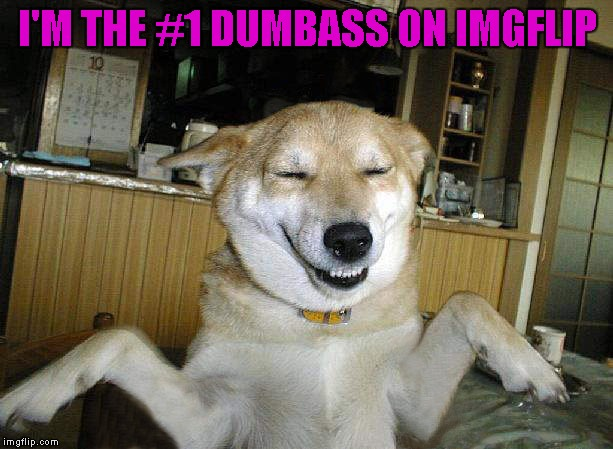 I'M THE #1 DUMBASS ON IMGFLIP | made w/ Imgflip meme maker