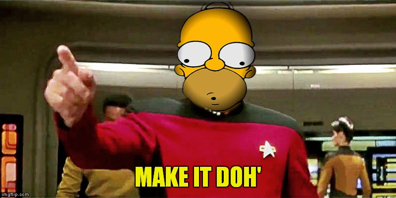 MAKE IT DOH' | made w/ Imgflip meme maker