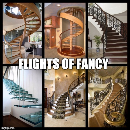 This Pun Is Bad On So Many Levels | FLIGHTS OF FANCY | image tagged in memes,puns,bad puns | made w/ Imgflip meme maker