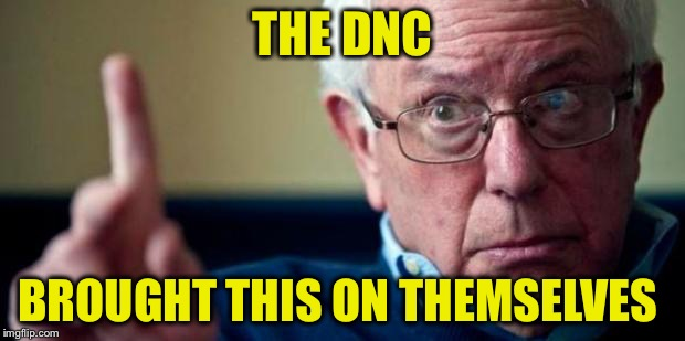 THE DNC BROUGHT THIS ON THEMSELVES | made w/ Imgflip meme maker