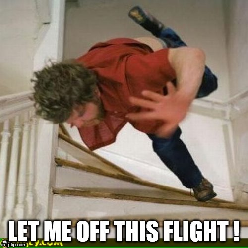 LET ME OFF THIS FLIGHT ! | made w/ Imgflip meme maker
