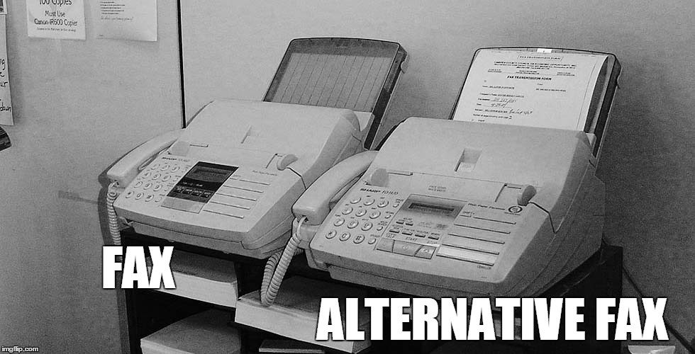 Meanwhile in Kellyanne Conway's office... | FAX ALTERNATIVE FAX | image tagged in trump,kellyanne conway | made w/ Imgflip meme maker