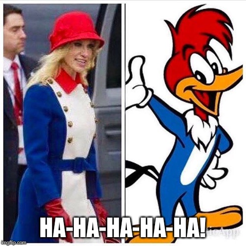 HA-HA-HA-HA-HA! | image tagged in kellyanne | made w/ Imgflip meme maker